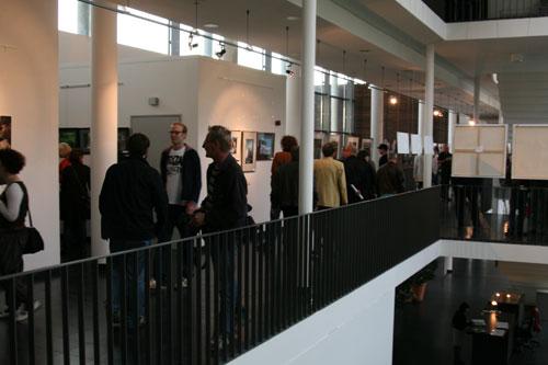 Gallerie im Treppenhaus